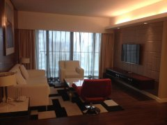 Spacious High-floor 2BR Service Apartment in Xujiahui