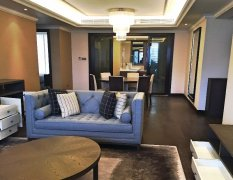 3BR High-End Service Apartment in Jingan's Stanford Residence