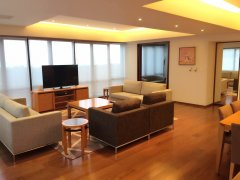 Luxurious Service Apartment with 200sqm Terrace near Jingan T