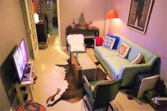 Oriental-Style 2BR Apartment at Shanghai Library