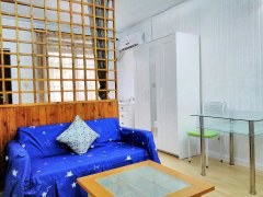 Bright Studio with Yard in Xintiandi