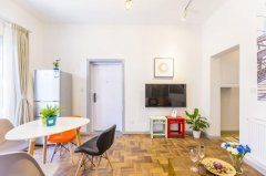 2BR Apartment with Patio in French Concession