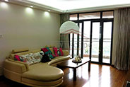 Beautiful Gubei apartment with 3BR and balcony