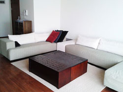 Apartment for rent in Yanlord garden in Pudong