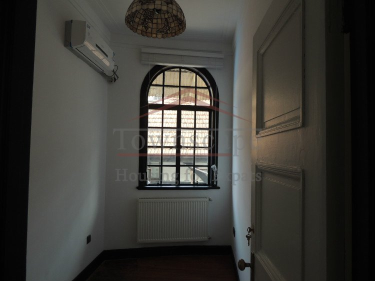 huashan rent in shanghai Renovated old apartment for rent with fierplace and wall heating