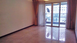 Unfurnished 3 BR apartment for rent in Xintiandi