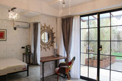stylish apartment with garden on Changle road