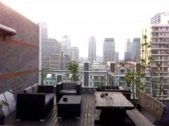 terrace shanghai Top 3 bed luxury apartment Xintiandi 80sqm terrace