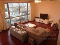 Shanghai Xintiandi rent Top 3 bed luxury apartment Xintiandi 80sqm terrace