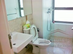 Shanghai apartment for rent High floor 3 bed apartment for rent in 8 Park Avenue