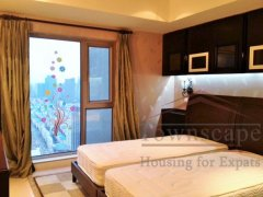 family apartment lujiazui High floor 5 Bed Apartment in Shimao Riviera Garden