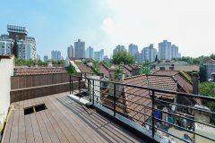 Lane House roof terrace Luxurious Lane House for Rent in center of French Concession