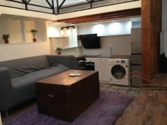 Shanghai lane house Stylish 1BR Lane House with Loft and Patio in French Concession