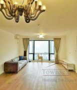 Shanghai apartment for rent High-Floor 3BR Apartment for Rent w/ Floor-  Heating in The Summit
