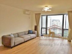 shanghai luxury apartment High-Floor 3BR Apartment for Rent w/ Floor-  Heating in The Summit
