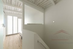shanghai house outdoor Top Modern Design Lane House w/ Terrace and Patio in French Concession