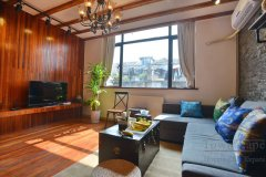 Lane House in the French Concession available for rent Feel Good Apartment in old townhouse on Ruijin Yi Rd