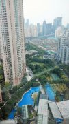 Shimao Riviera compound in Shanghai Comfy 2BR Apartment for rent with river view in Shimao Riviera