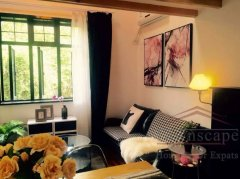 Shanghai downtown rentals Cozy 2 bed apartment for rent in old house on Changle Road