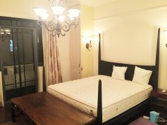 High-Ceiled 2BR Lane House for Rent near Shanghai Library