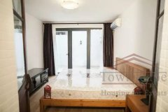 Shanghai apartment for rent Renovated 2BR Apartment for rent w/Patio nr Jiaotong Uni