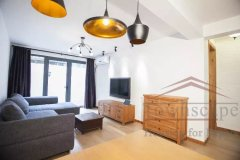 french concession apartment Renovated 2BR Apartment for rent w/Patio nr Jiaotong Uni