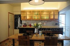 Lovely designed 3BR Apartment for rent on Wulumuqi Road nr Line 7 and 9