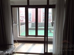 Shanghai 3br apartment for rent Elegant 3BR Apartment with Terrace near Xintiandi and Laoximen