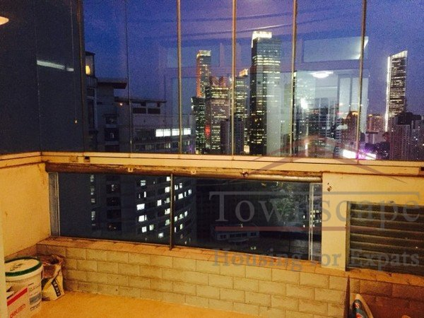 Shanghai apartment for rent High-floor 3BR Apartment for rent in Manhattan Heights (Jing