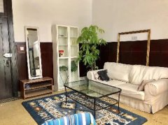 1BR Old Apartment with Garden nr West Nanjing Road