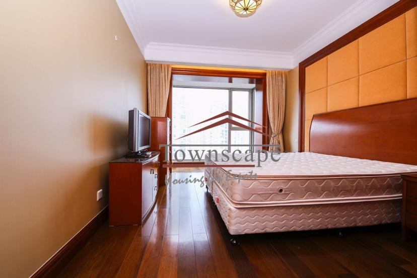 large bedroom Lujiazui CBD VIP Apartment for Rent in Shanghai