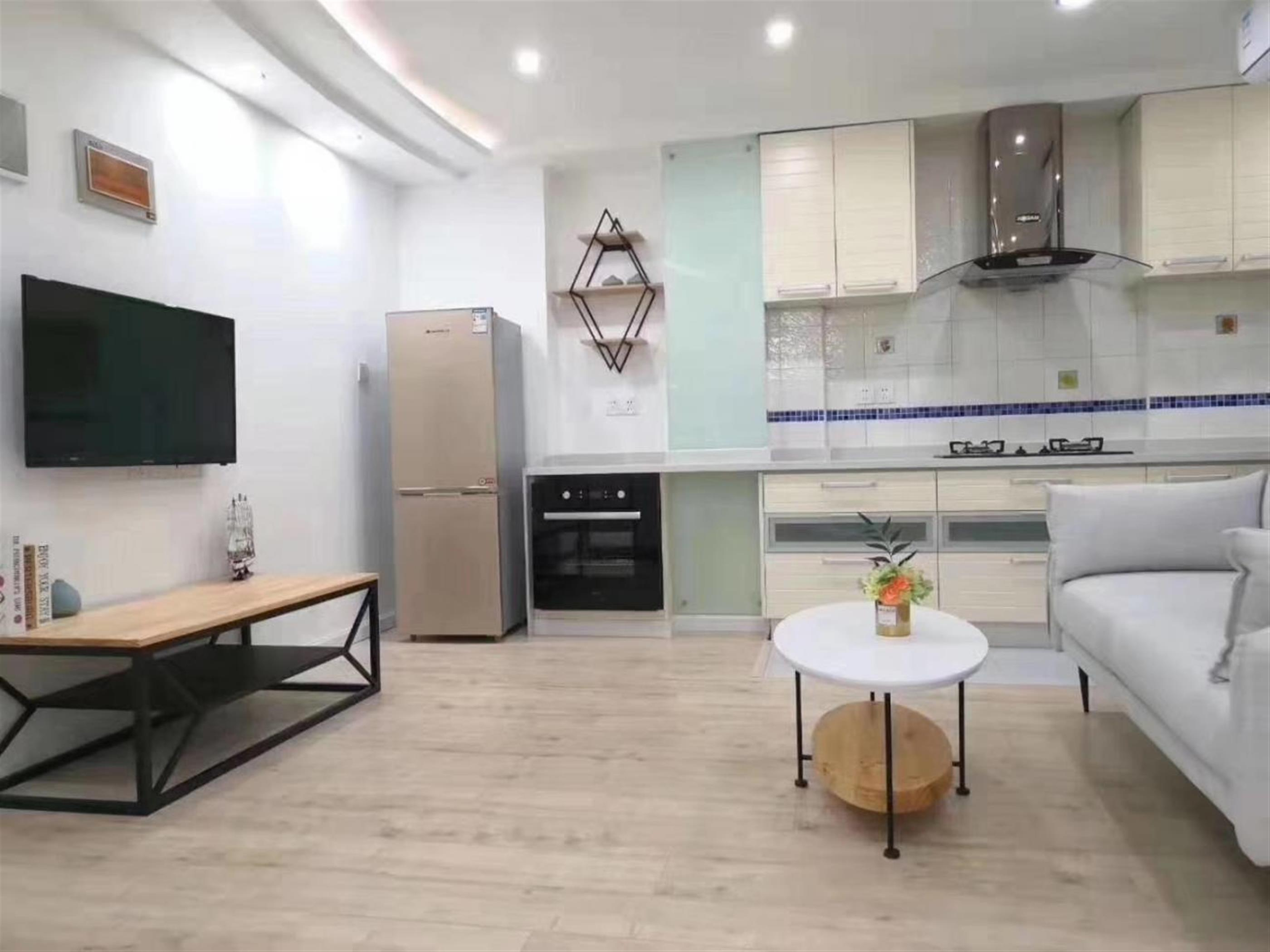 Sleek Modern 1BR Apartment Nr LN 3/4 for Rent in Shanghai