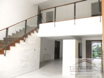 duplex apartment shanghai Lanting Villa 330sqm 4bdr with garden in FC near metro line